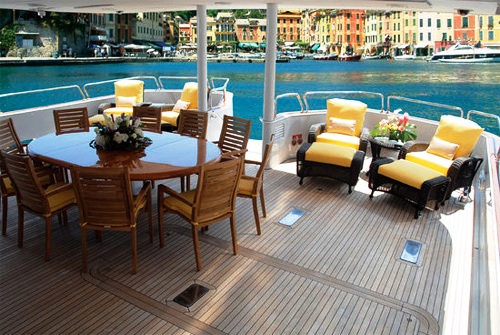 PURE BLISS - Aft Deck